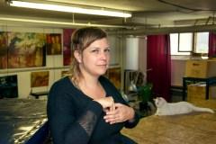 Pamela E. Witcher, poète en langue des signes