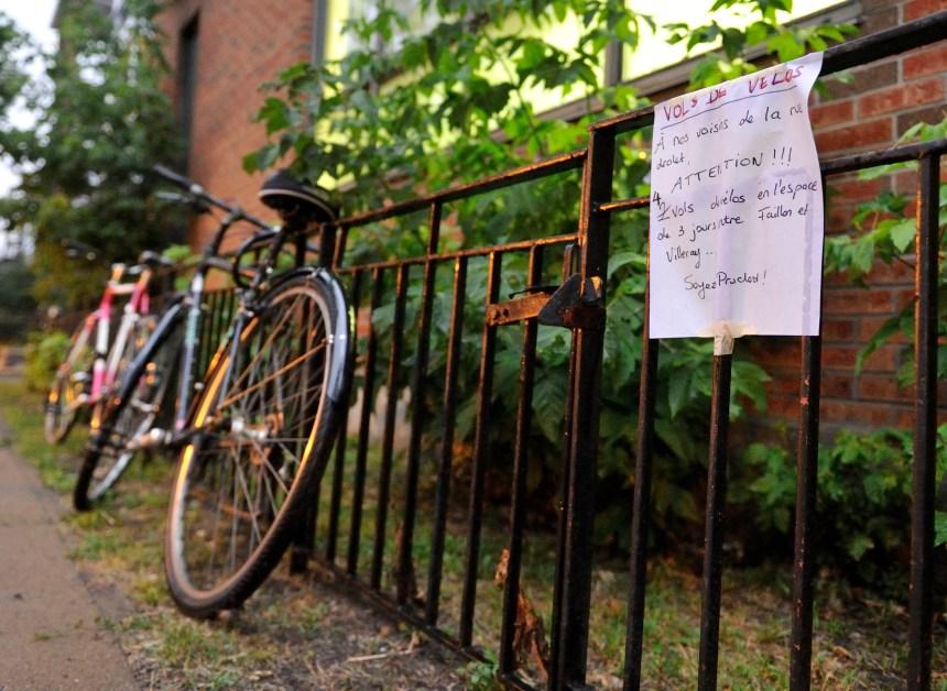 Vélos volés: la lutte rebondit sur les réseaux sociaux