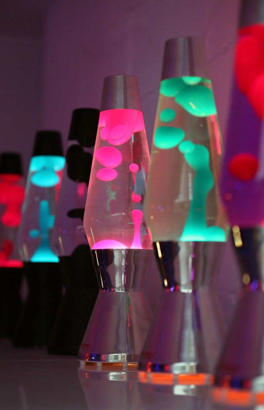 En photos: le 50e anniversaire des Lava Lamps