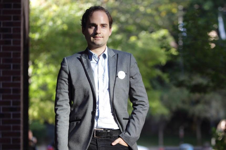 Alexandre Warnet: Des ronds blancs pour s'ouvrir à l'autre