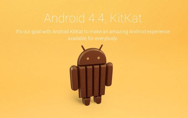 Android 4.4 s'appellera KitKat