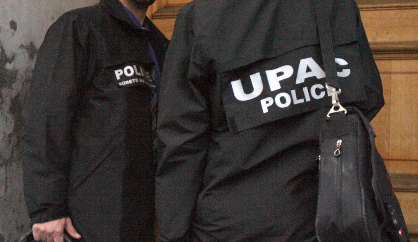 Sécurité publique: deux arrestations par l'UPAC