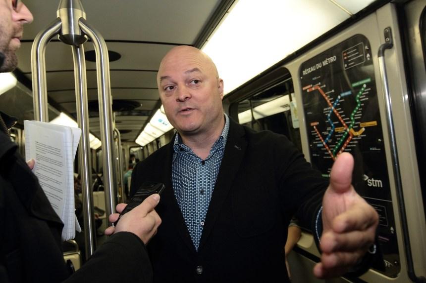 Métro dans le métro avec Michel Brûlé