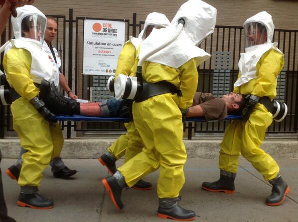 Bilan très satisfaisant de la simulation d'attaque terroriste à Montréal