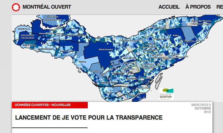 L'open data s'invite dans la campagne électorale