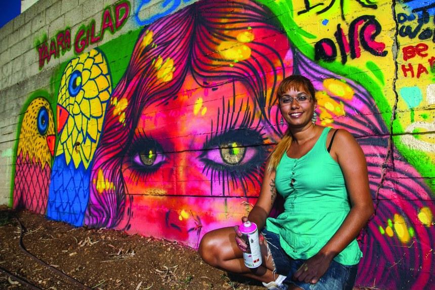Un féminisme mur à mur avec les reines du graffiti