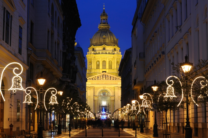 Les marchés de Noël hongrois (vidéo)