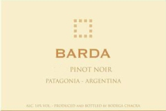 Vin de la semaine: Bodega Chacra Barda