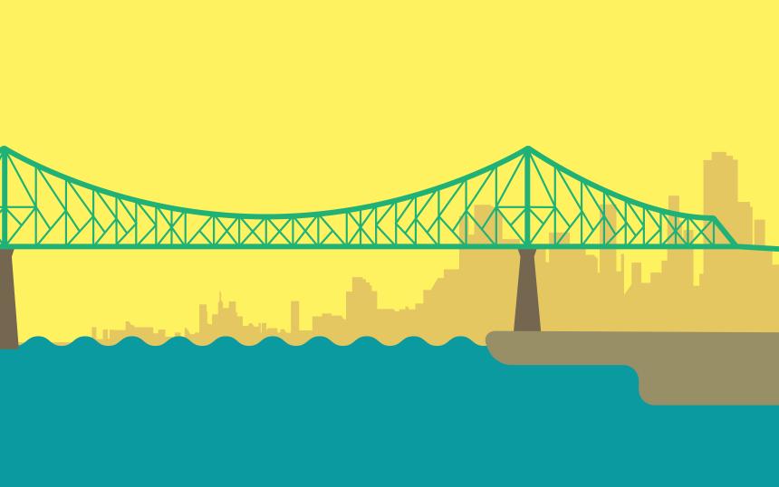 3e symbole le plus emblématique de Montréal: le pont Jacques-Cartier