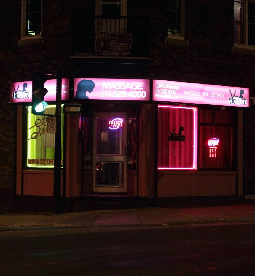 Montréal songe à tolérer les salons de massage érotique