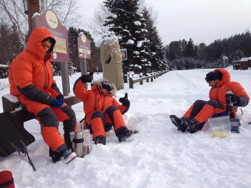 Montréal-Kuujjuaq en ski de fond: le projet Karibu relève le défi en 130 jours