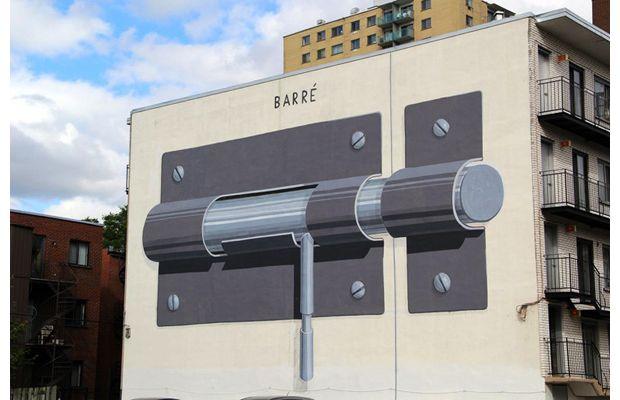 Trois oeuvres du festival Mural parmi les plus belles murales du monde
