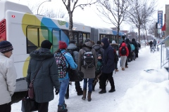 La CMM s'oppose à la gratuité du transport en commun le lendemain de tempêtes de neige