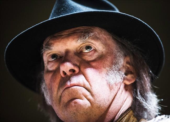 Le nouvel album de Neil Young est en ligne