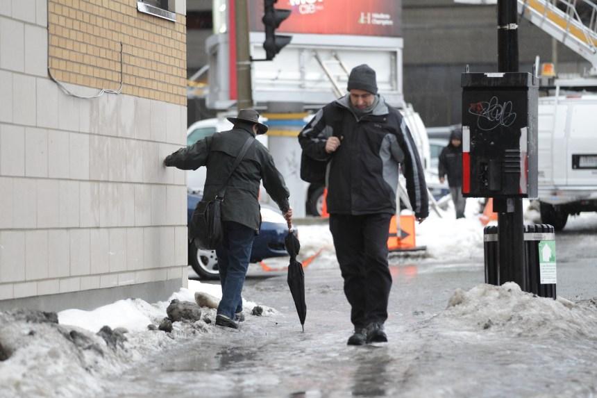 Nouvel épisode de verglas à Montréal