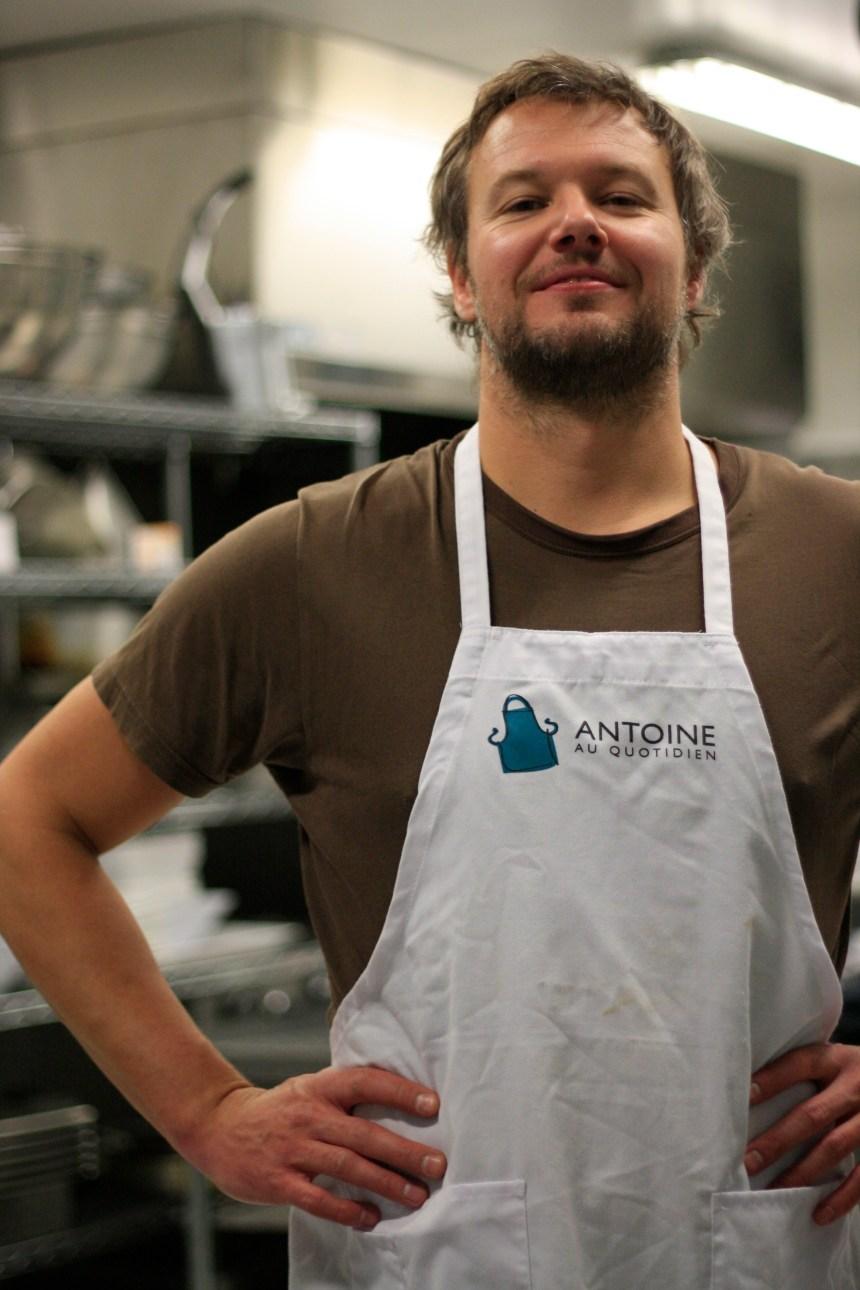 Le traiteur Antoine Masson-Delisle: de l'aide au quotidien