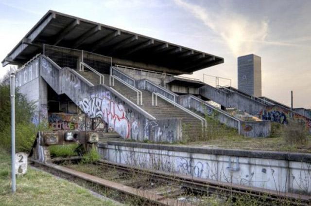 Munich-stationdetraindusiteoympique