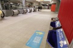 La propreté du métro touchée par les coupures