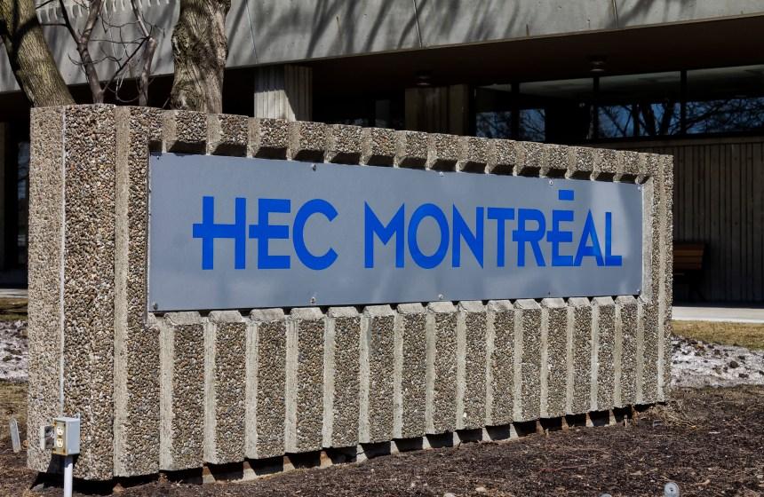 Énorme dégât d'eau à la bibliothèque des HEC