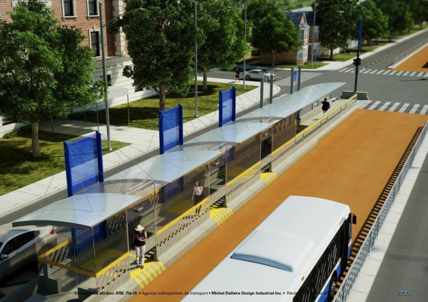 Boulevard Pie-IX: l'AMT privilégie les bus