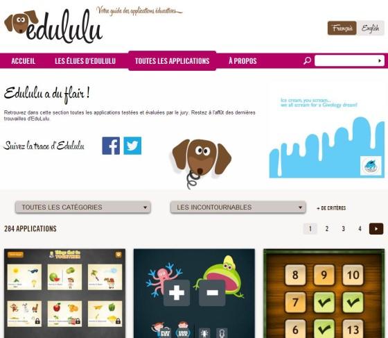 EduLulu vous aide à trouver les meilleures applications éducatives