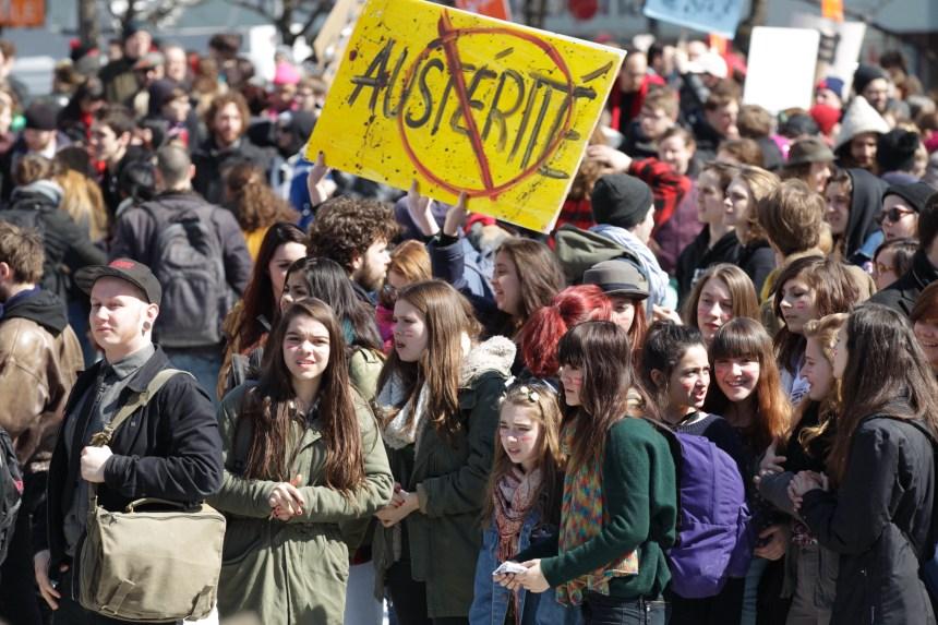 Plus de 30 000 étudiants seront en grève pendant deux semaines
