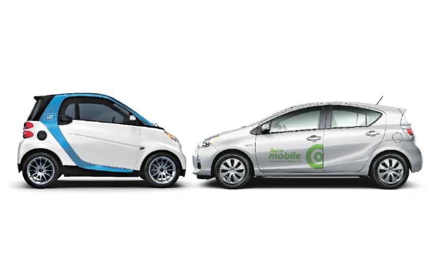 Entre 25% et 50% des utilisateurs d'autos en libre-service délaissent leur voiture