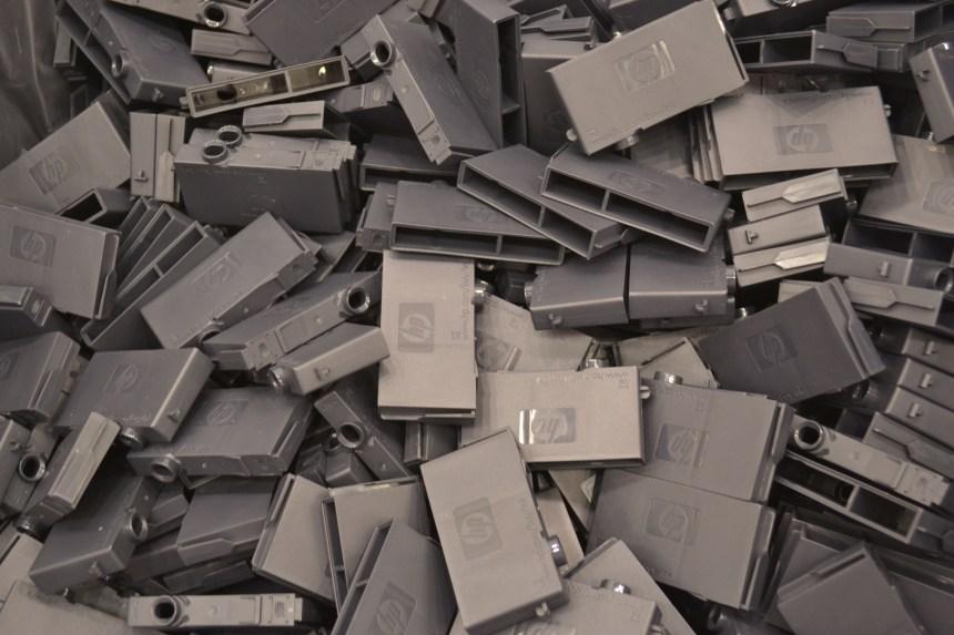 Complexe, le recyclage des cartouches d'encre