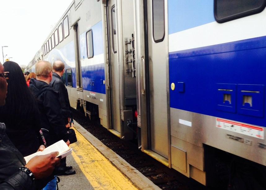 Train de l'est: plus achalandé, mais des stationnements encore boudés
