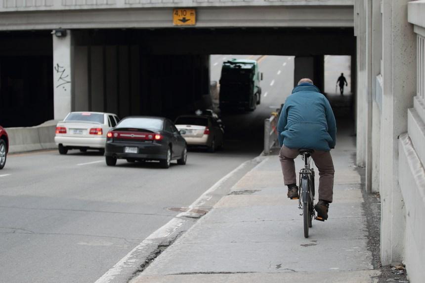57 tronçons cyclables sous des viaducs seront sécurisés