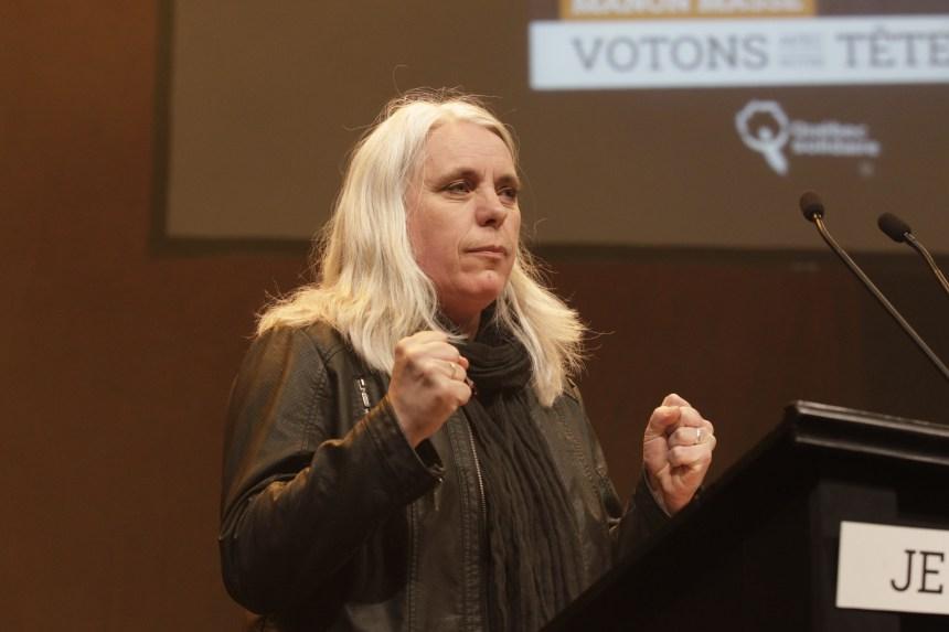 La députée Manon Massé se dit victime d'intimidation de la part d'André Drolet