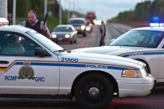La GRC recherche un suspect qui a tenté de lui voler un véhicule