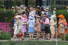 Rassemblement de chapeaux au mont Royal
