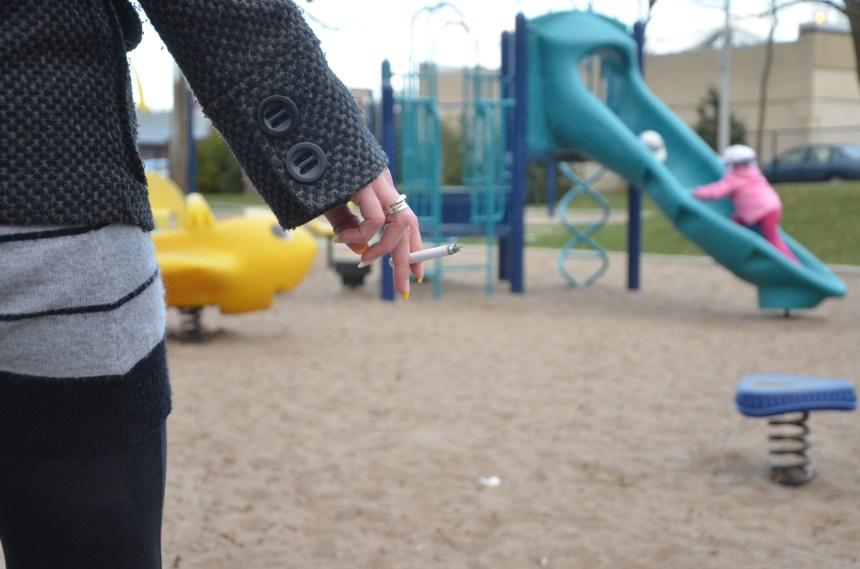 Efforts pour bannir la cigarette des parcs