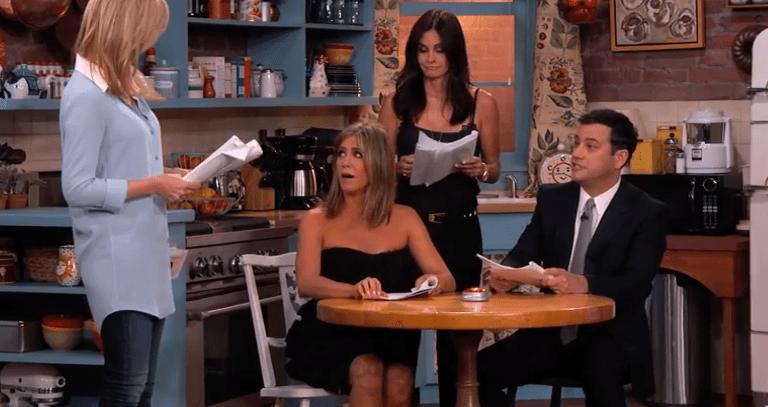 Les comédiennes de Friends reprennent leur rôle… pour une scène