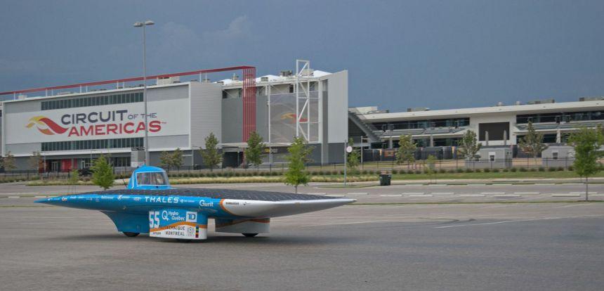 L'auto solaire de Polytechnique brille aux États-Unis