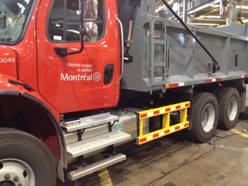 La Ville de Montréal rendra ses camions plus sécuritaires