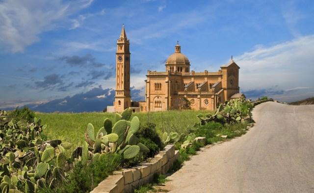 Gharb village Gozo Malta