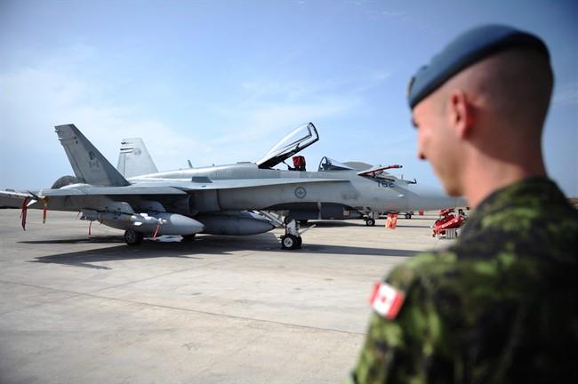 Priorité militaire: rappeler les CF-18 canadiens