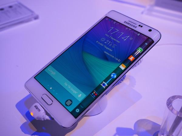 Aperçu du Samsung Galaxy Note Edge au IFA 2014