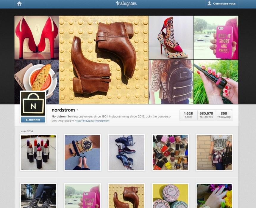 Magasiner sur Instagram, une pratique qui se développe