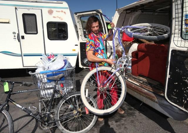 Burning Man-Rain Delay