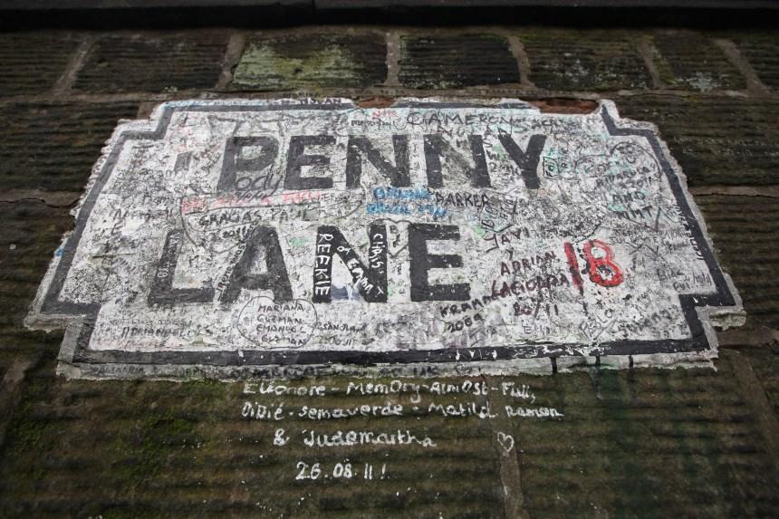 Sur les traces des Beatles à Liverpool