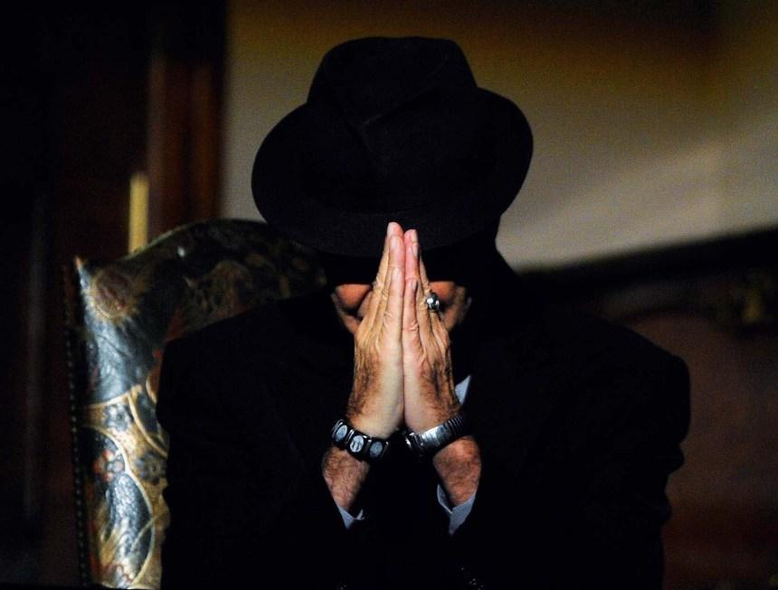 Le poète Leonard Cohen en images