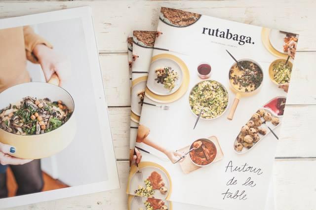 Rutabaga et Fou des foodies: lecture pour jours de pluie