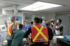 Simulation d'une catastrophe dans des hôpitaux de Montréal