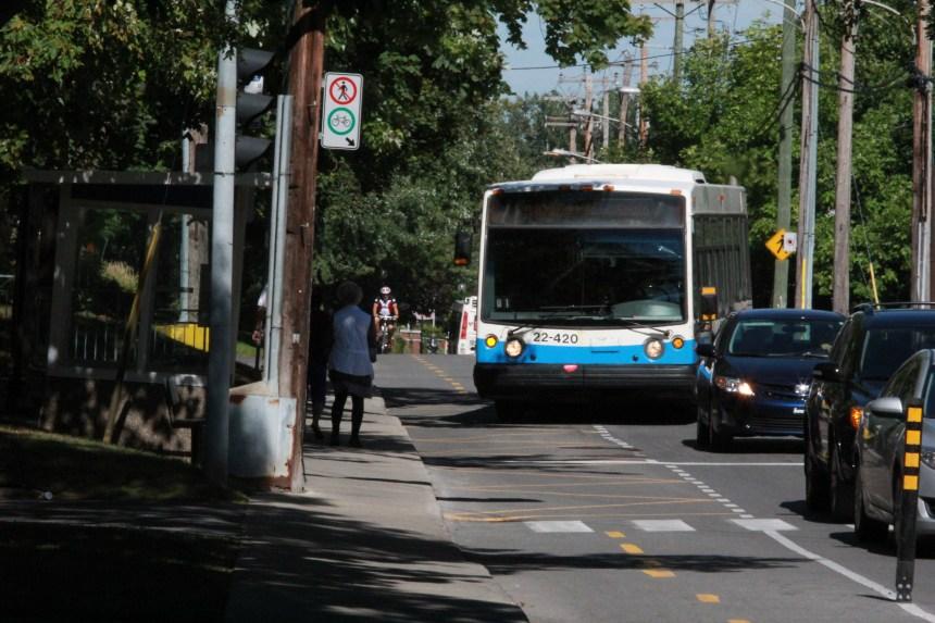Des chauffeurs d'autobus craignent le pire sur le boulevard Gouin