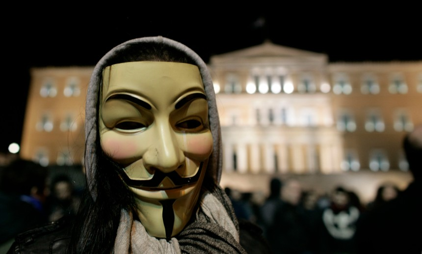Derrière les claviers d'Anonymous