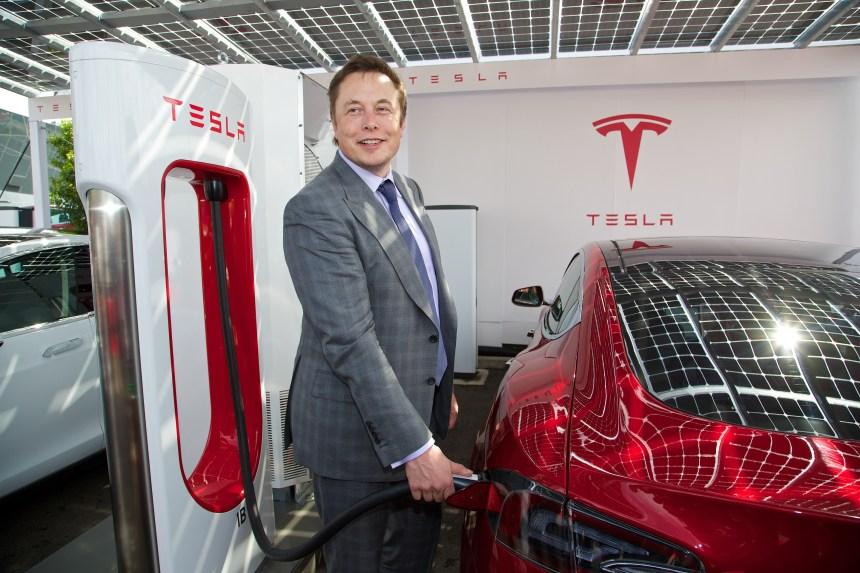 L'homme de l'année en automobile: Elon Musk, PDG de Tesla