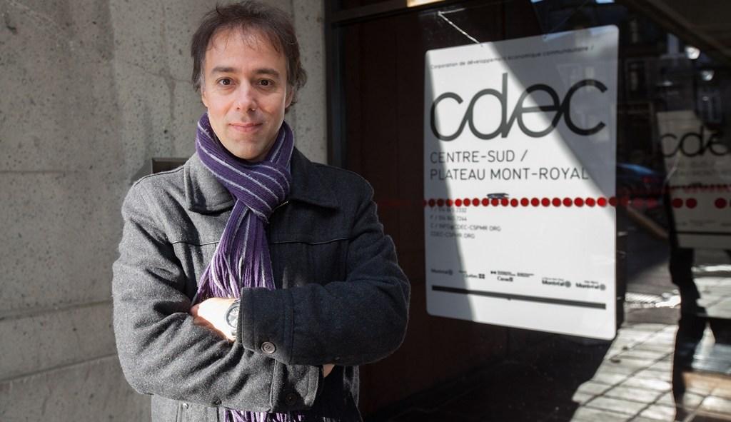 Luc Rabouin président de la CDEC Plateau Mont-Royal